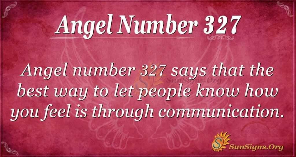 Angel Number 327