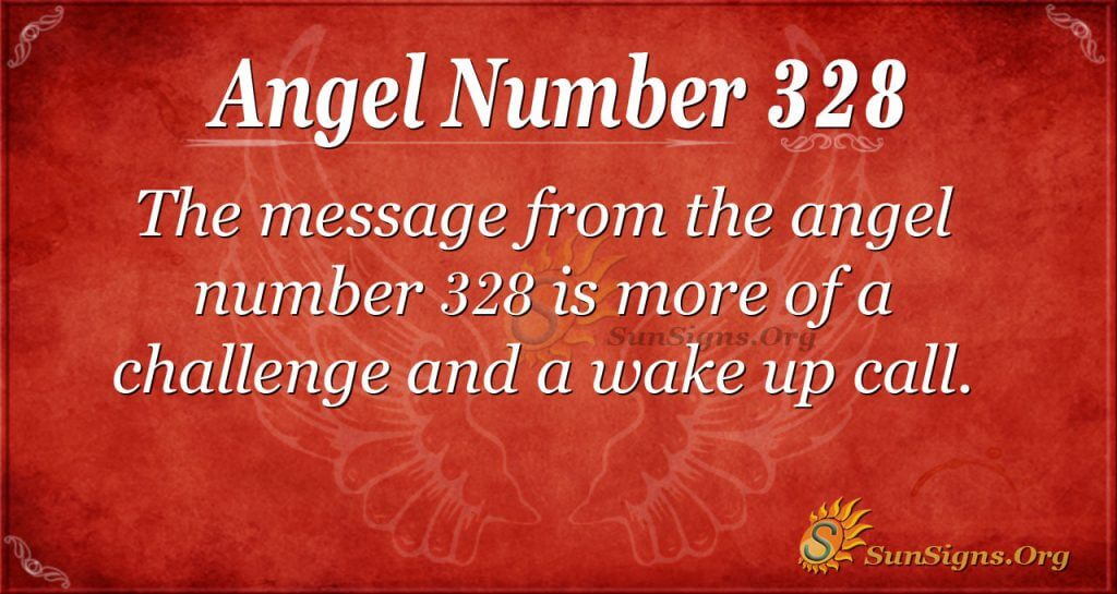 Angel Number 328