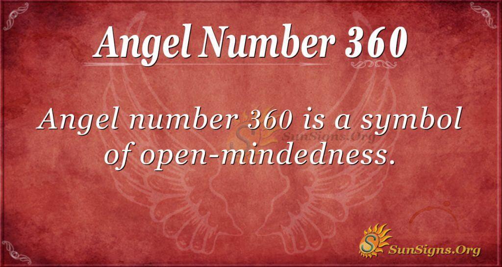 Angel Number 360