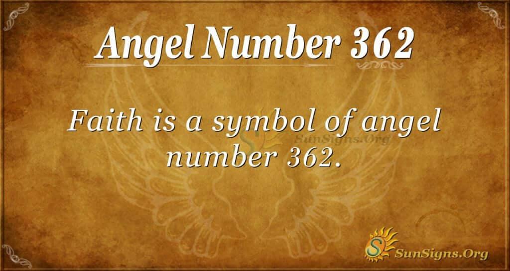 Angel Number 362