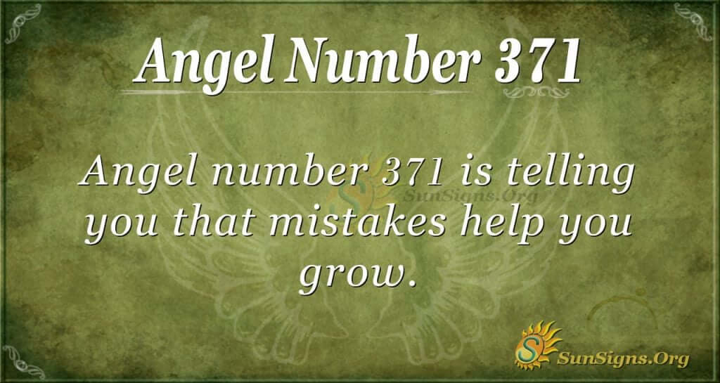 Angel Number 371