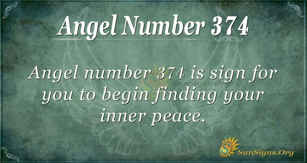 Angel Number 374