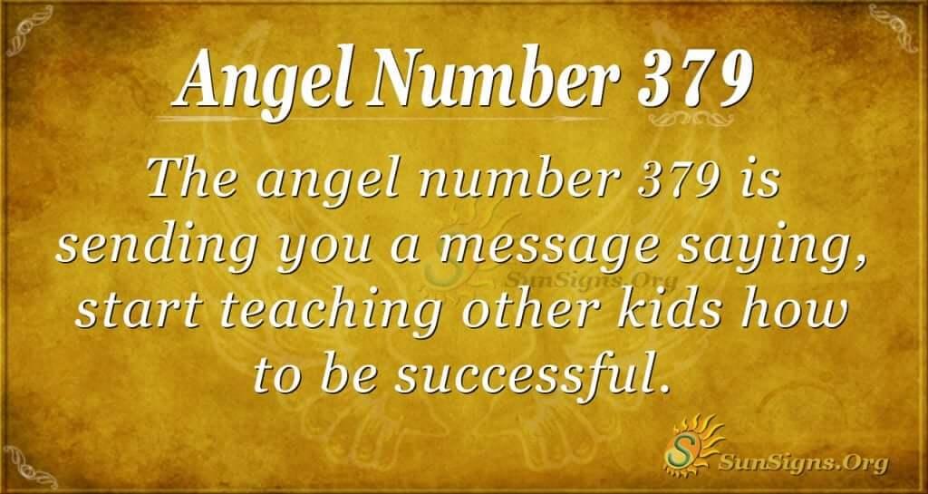 Angel Number 379