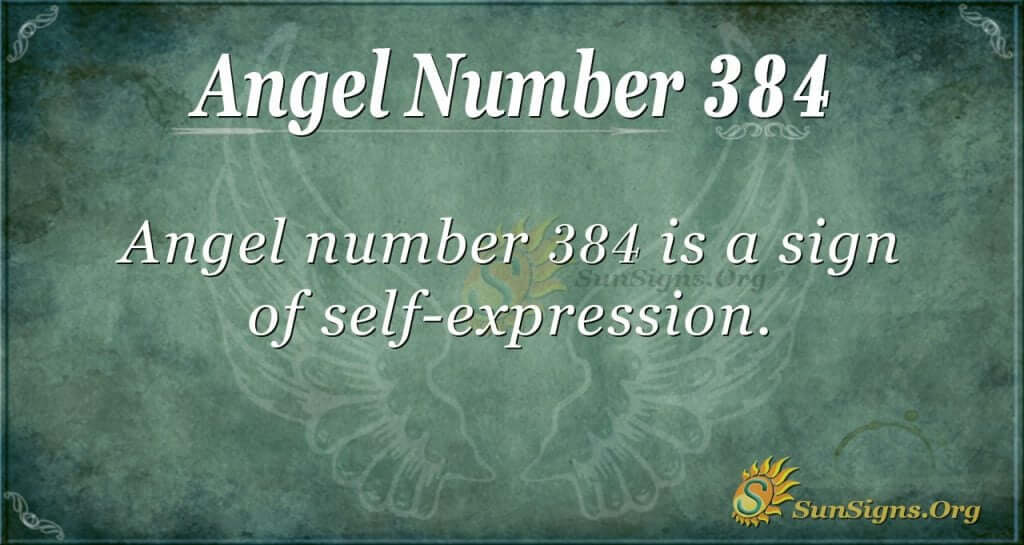 Angel Number 384