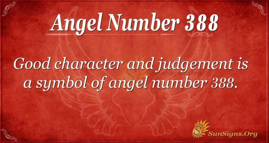 Angel Number 388