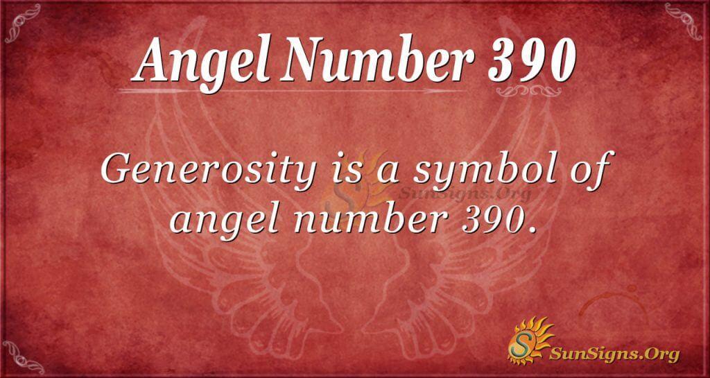 Angel Number 390