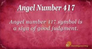 Angel Number 417