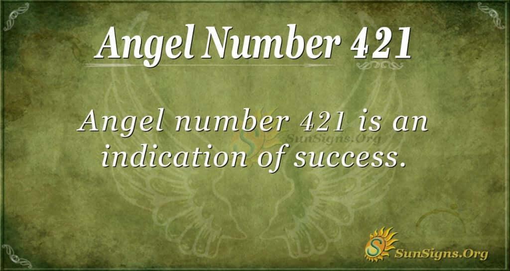 Angel Number 421
