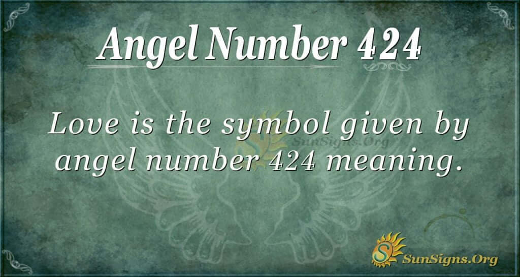 Angel Number 424