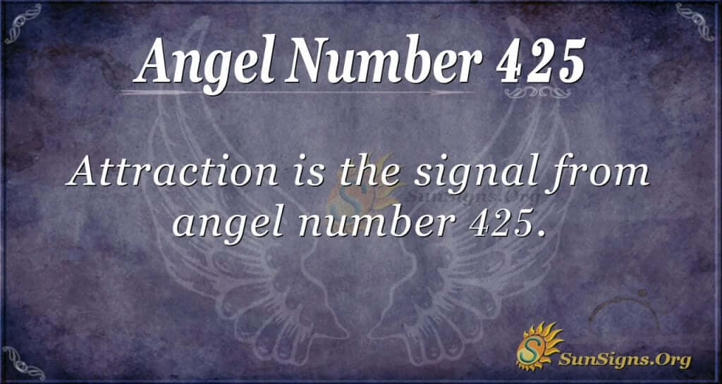 Angel Number 425