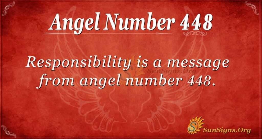 angel number 448