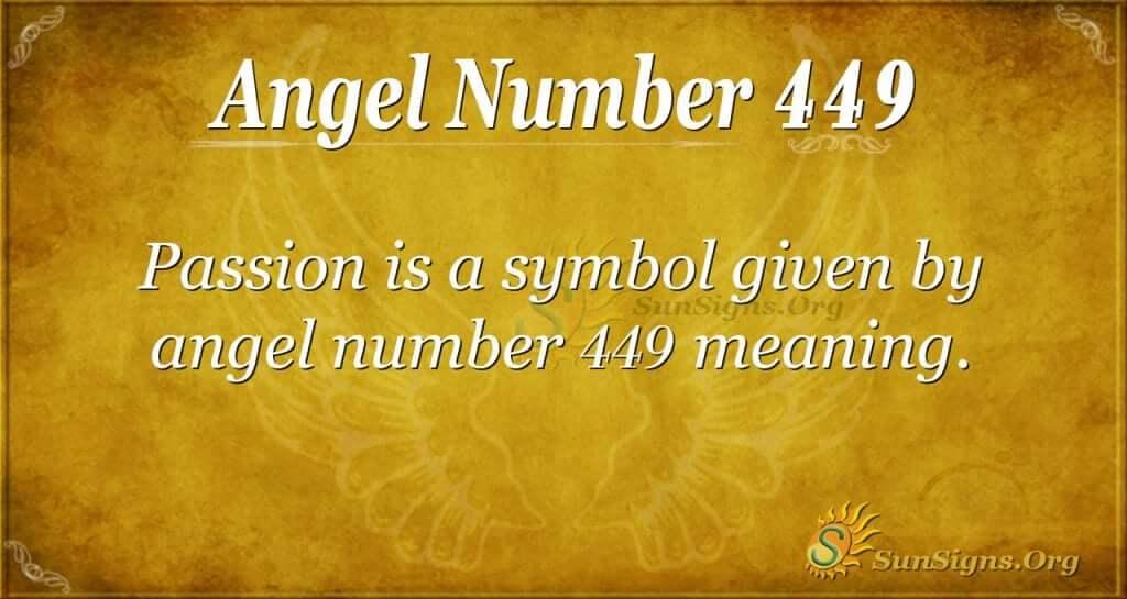 angel number 449