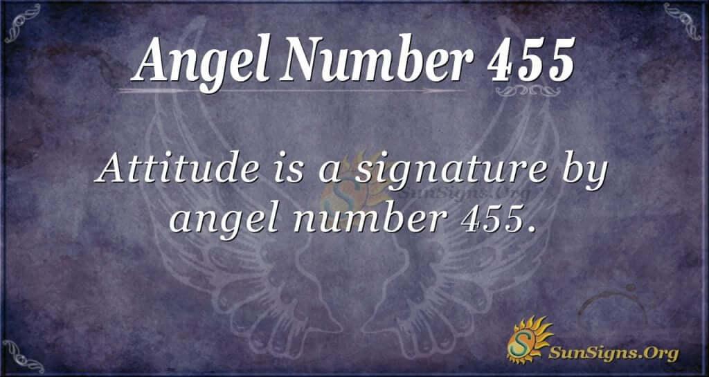 Angel Number 455