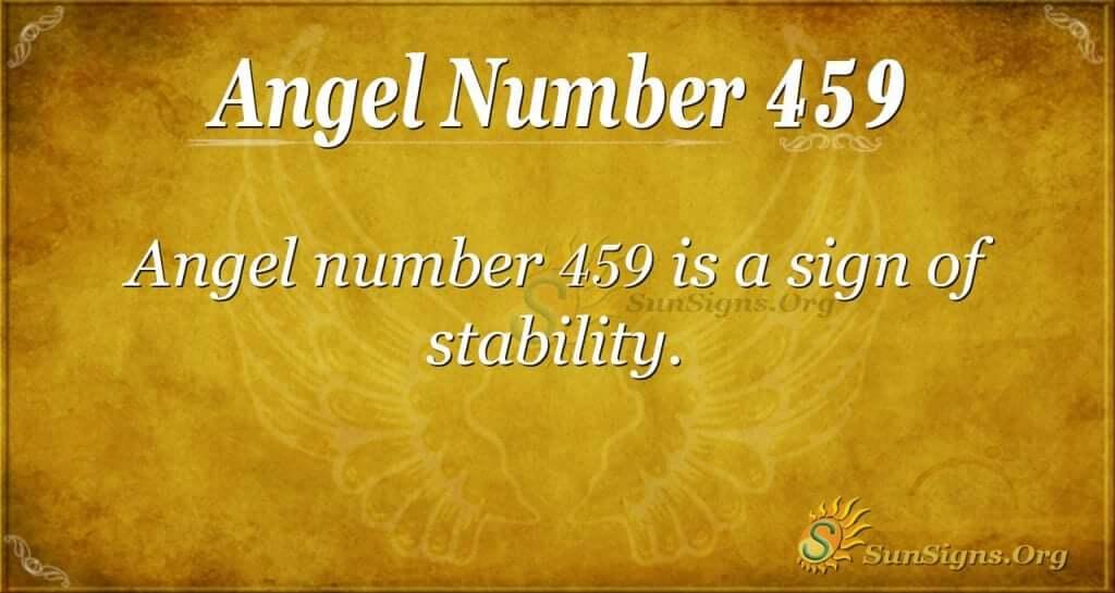 Angel Number 459