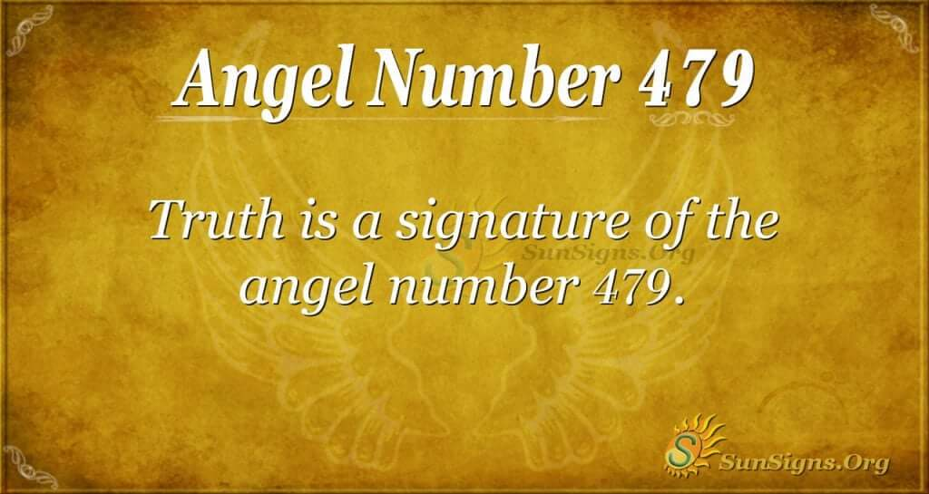 Angel Number 479