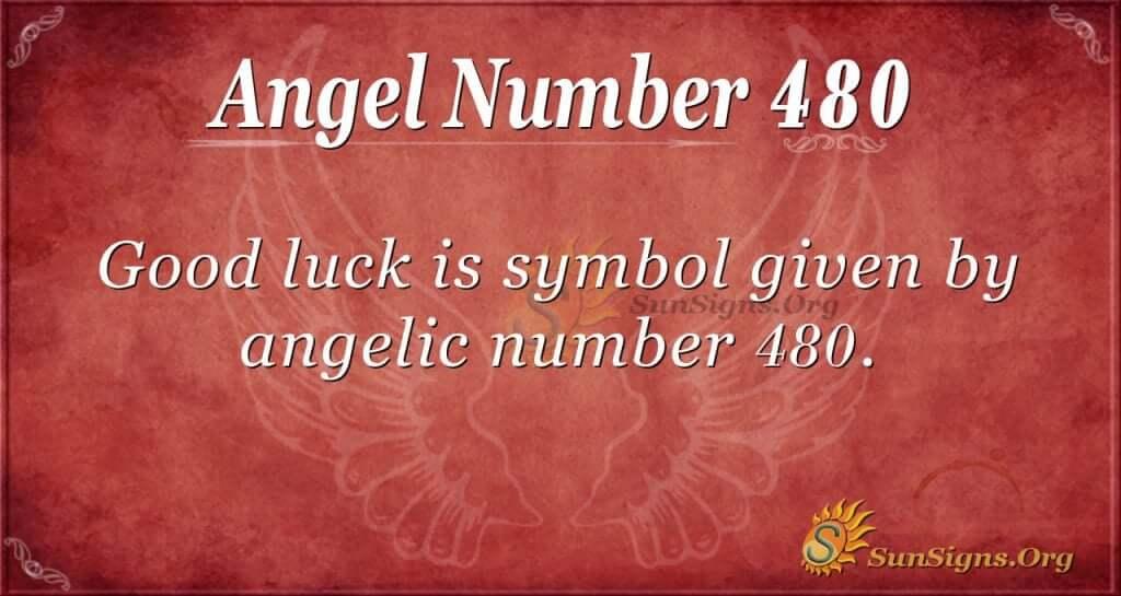 Angel Number 480