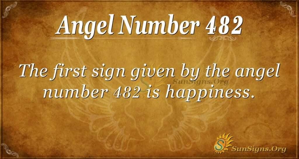 Angel Number 482