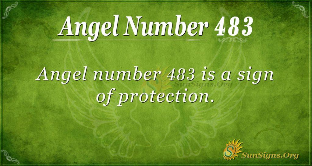 Angel Number 483