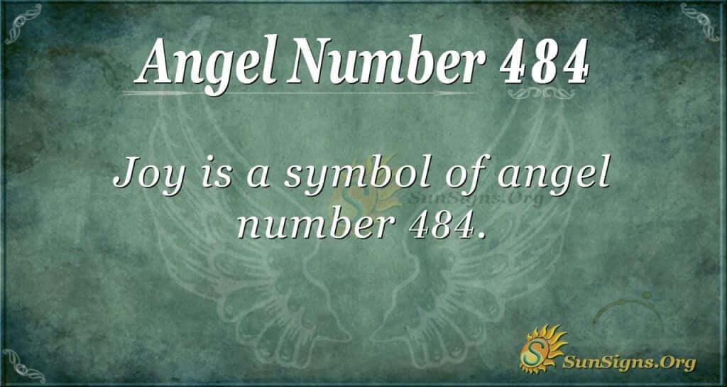 Angel Number 484