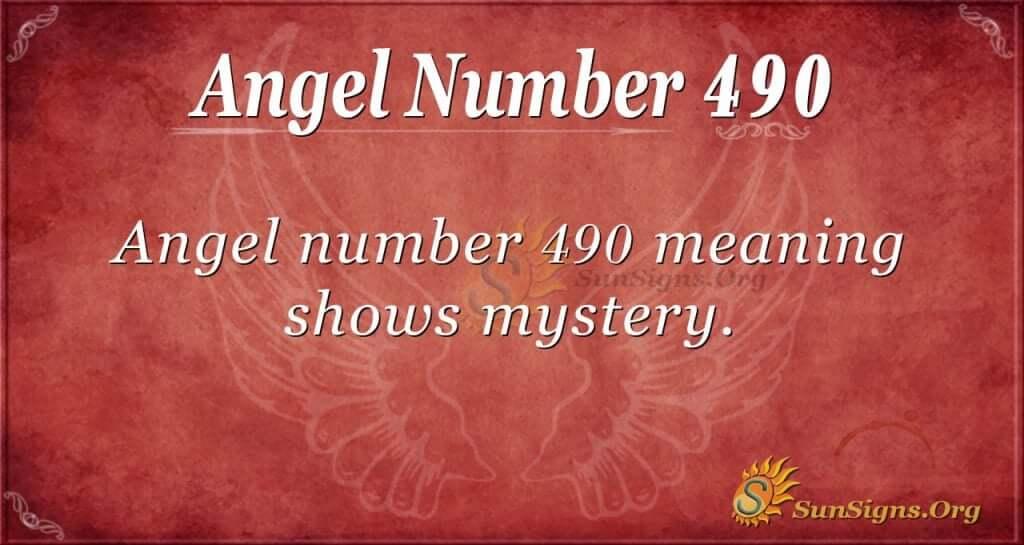 Angel Number 490