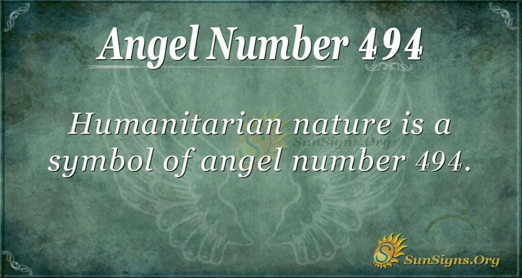 Angel Number 494