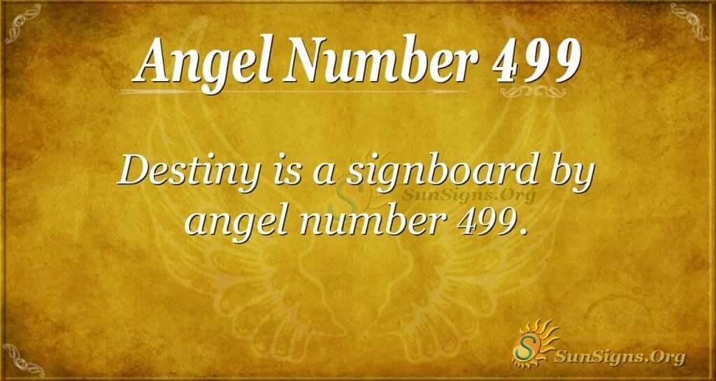 Angel Number 499