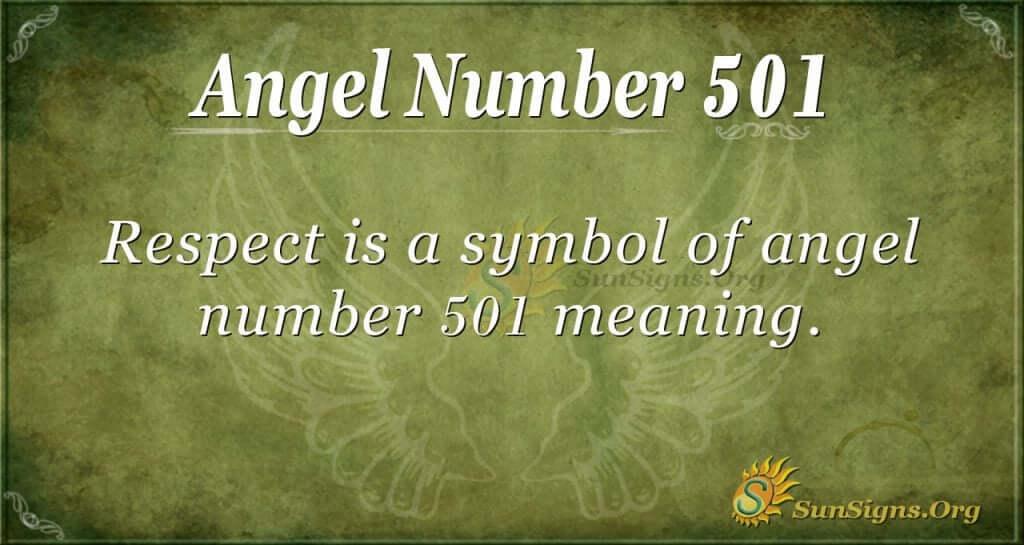 Angel Number 501