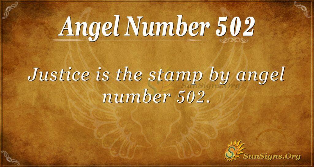 Angel Number 502