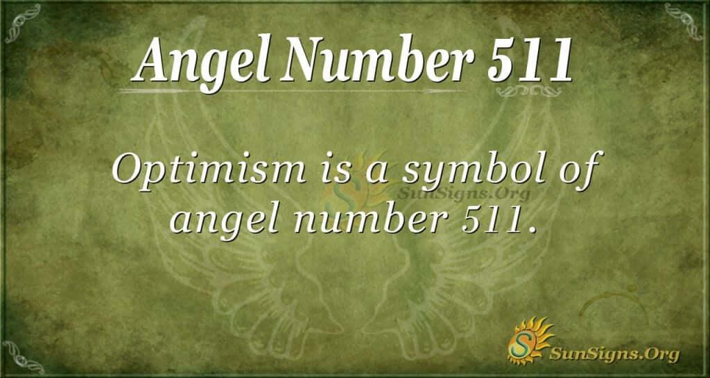Angel Number 511