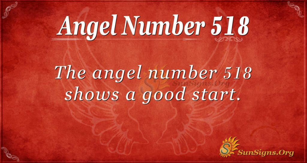 Angel Number 518