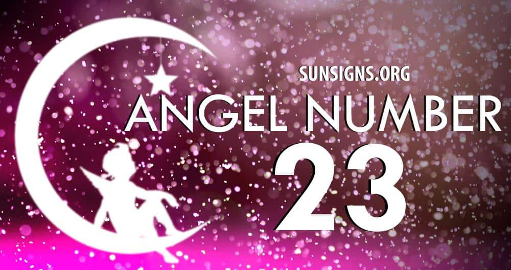 angel number 23