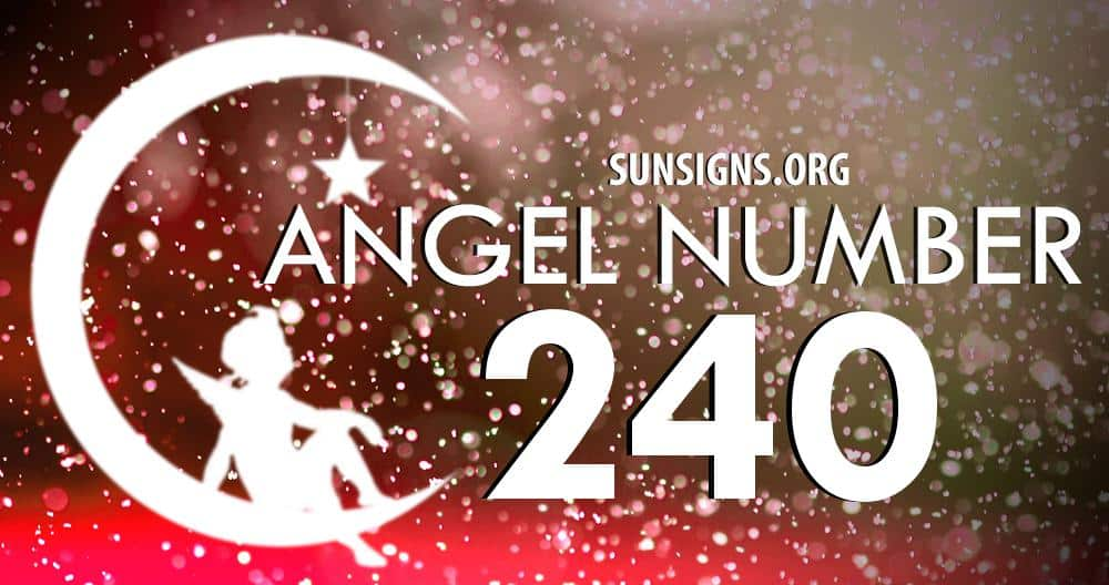 angel number 240
