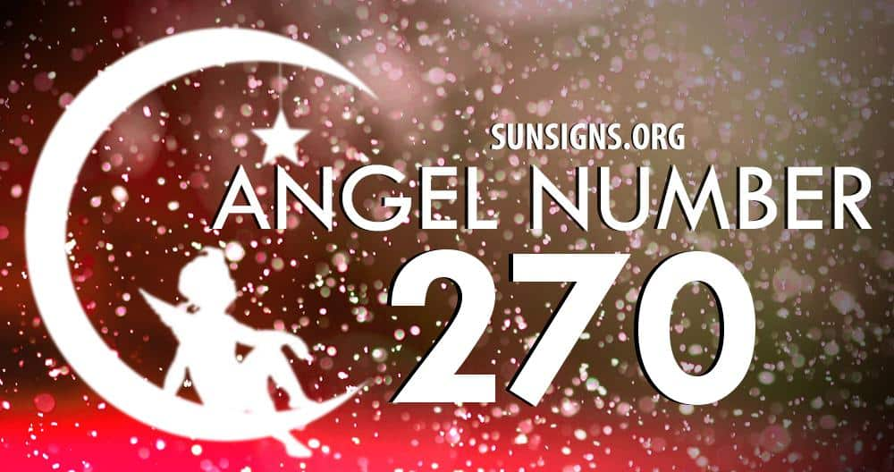 angel number 270