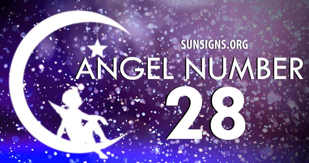 angel number 28
