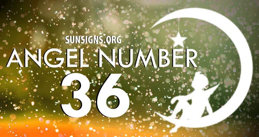 angel number 36