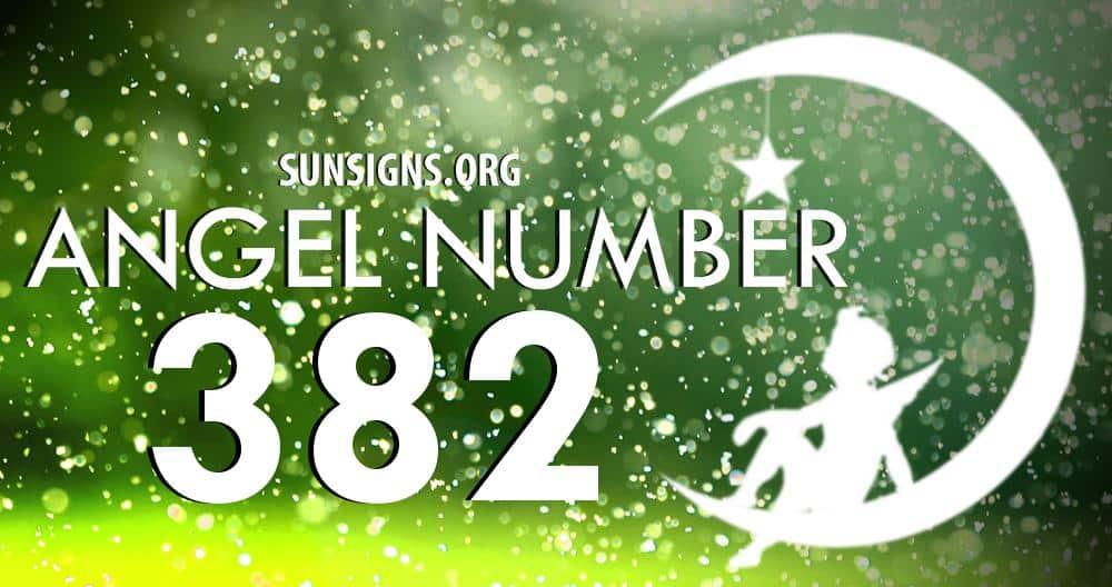 angel number 382