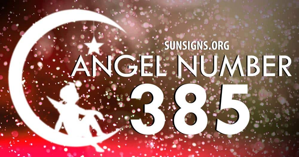 angel number 385