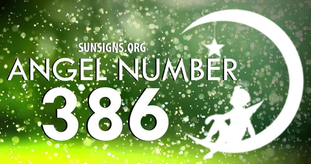 angel number 386
