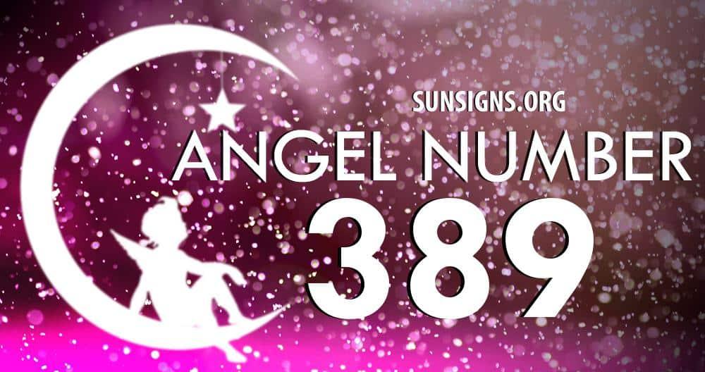 angel number 389