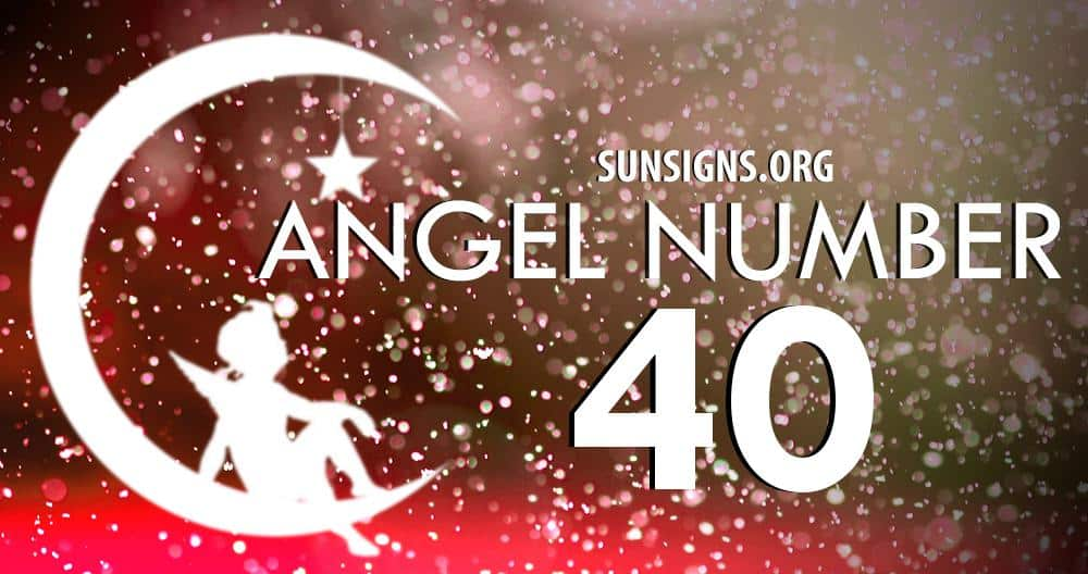 angel number 40