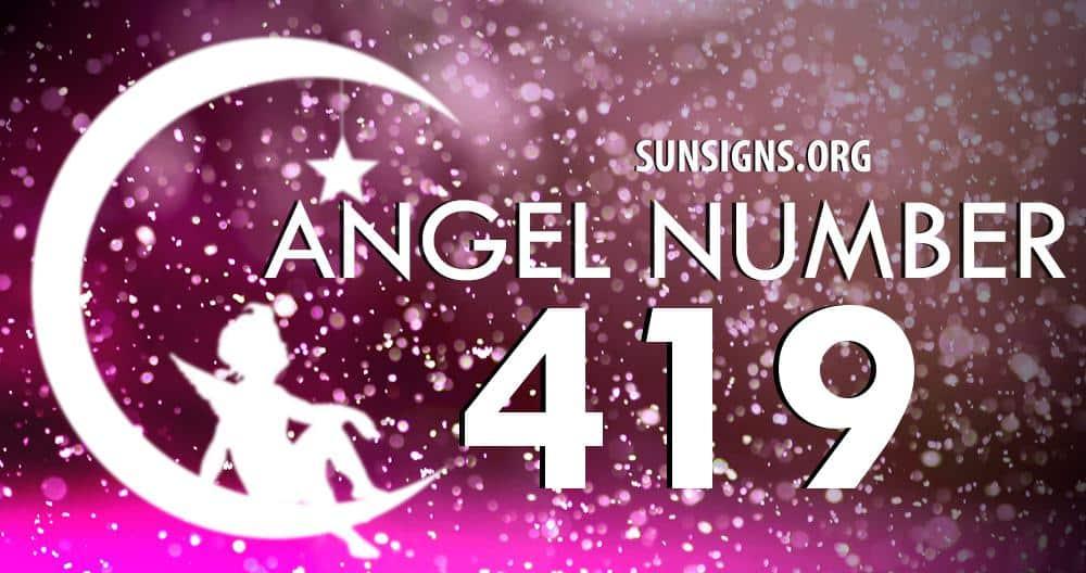 angel number 419