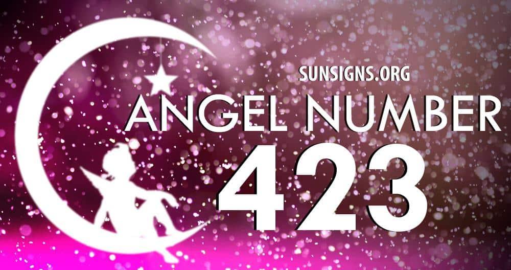 angel number 423