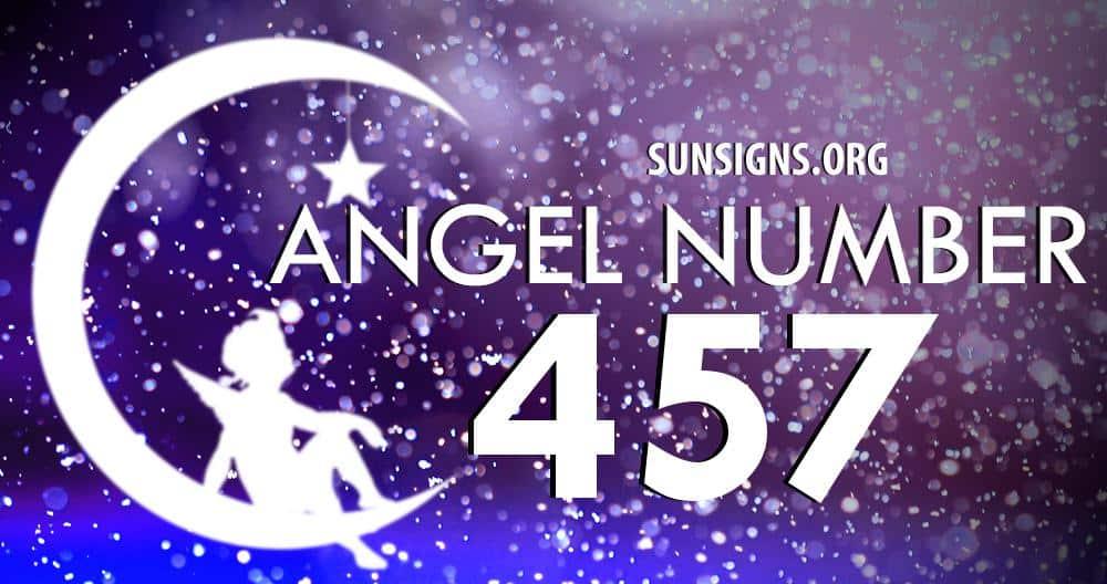 angel number 457