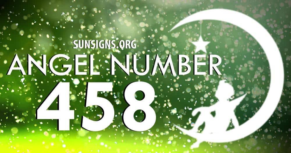 angel number 458