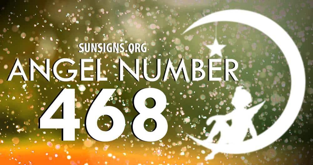 angel number 468