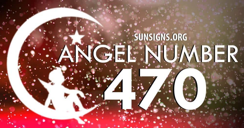 angel number 470