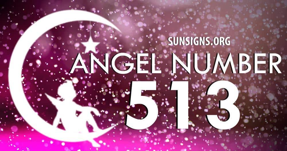 angel number 513