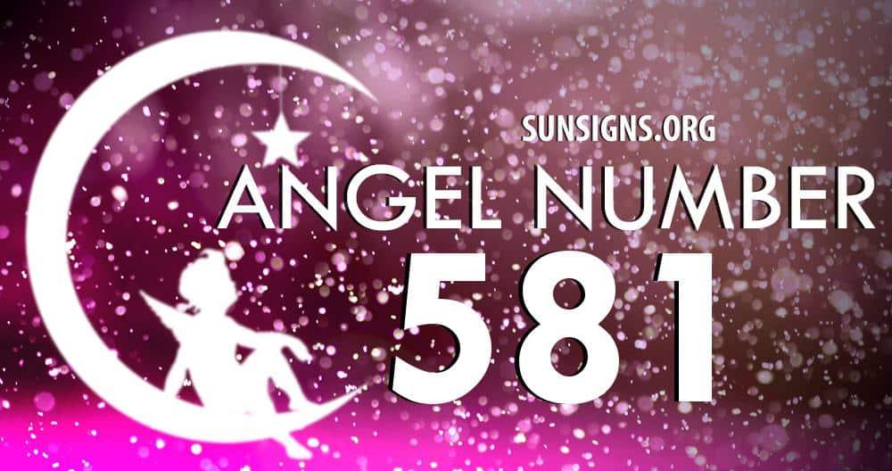 angel number 581
