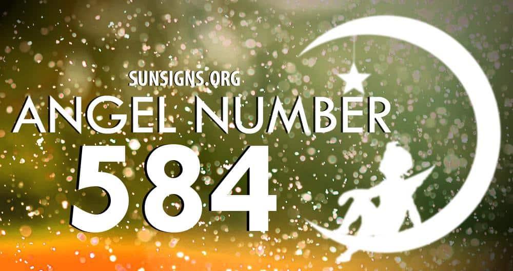 angel number 584