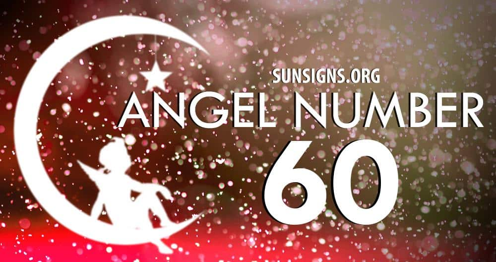 angel number 60